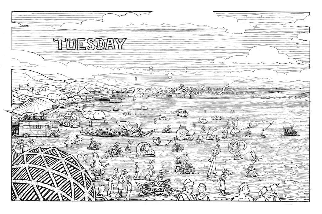 Twenty Six: Tuesday